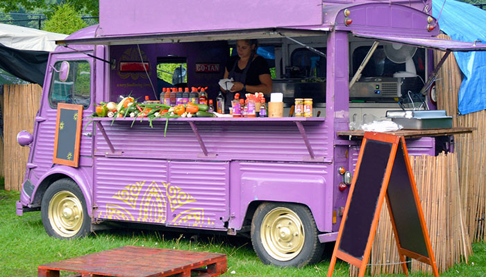 street food and food trucks