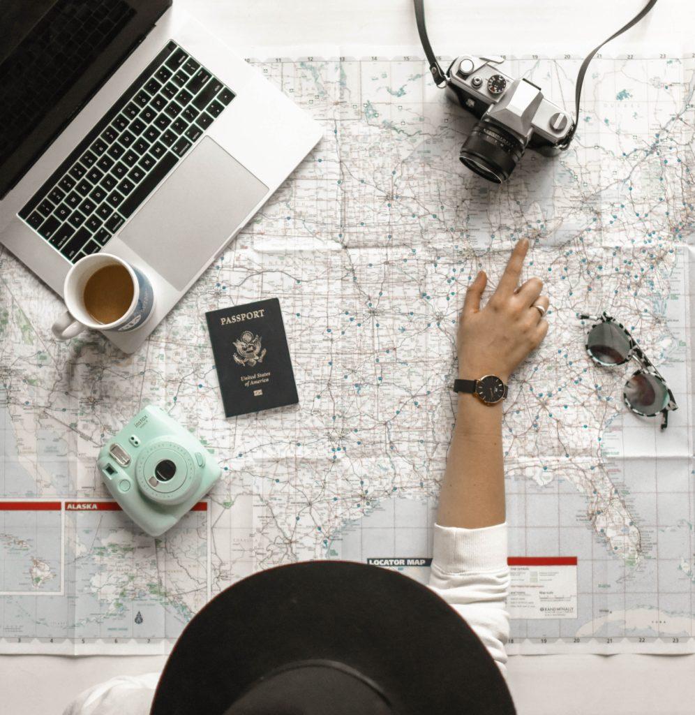 planear un viaje de vacaciones