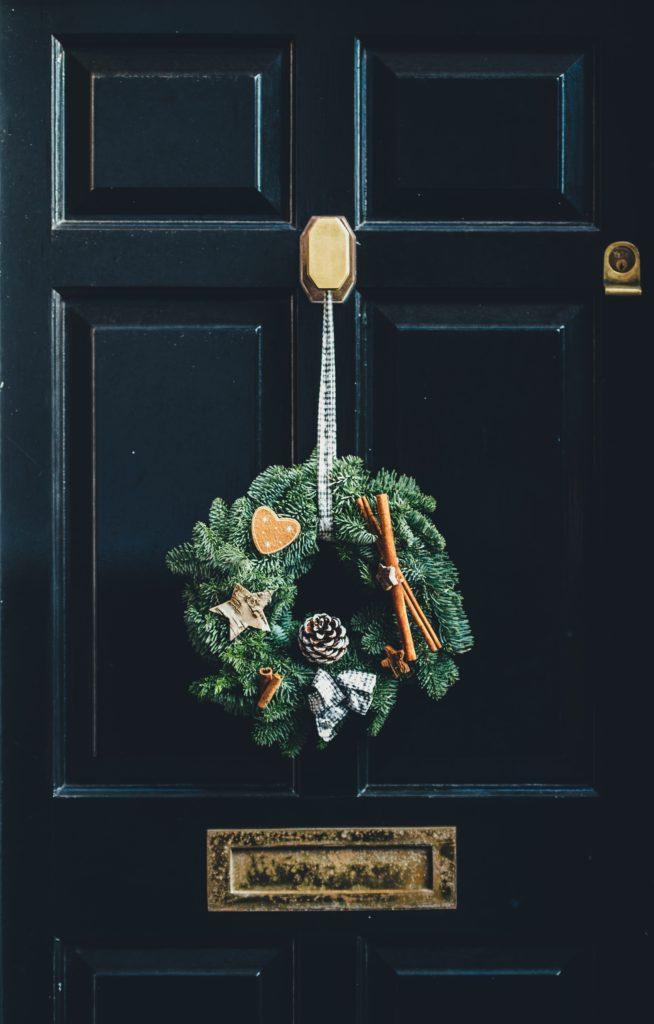 corona de navidad decoracion